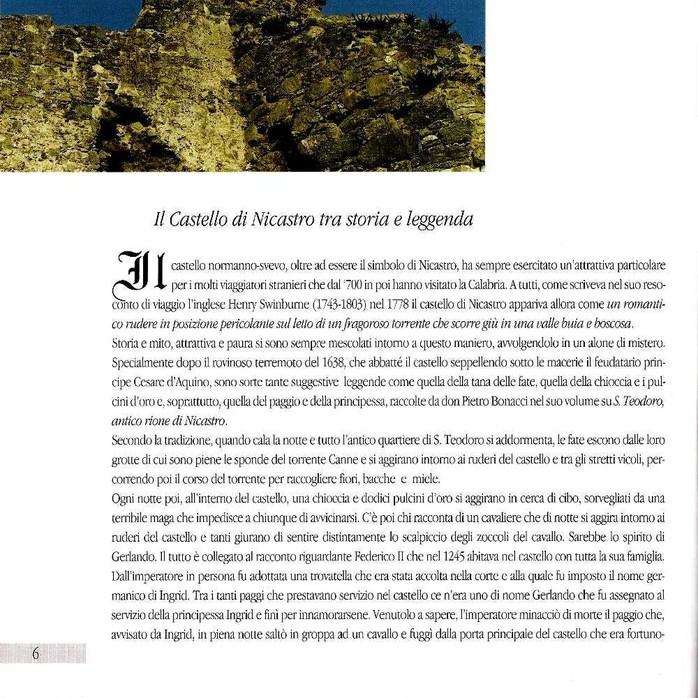 LAMEZIASTORICA - Il Castello di Nicastro (V  Villella)